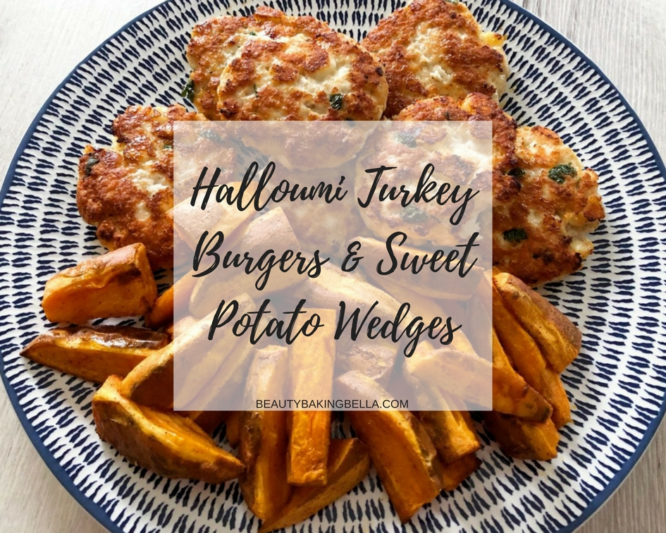 Halloumi Turkey Burger Recipe
