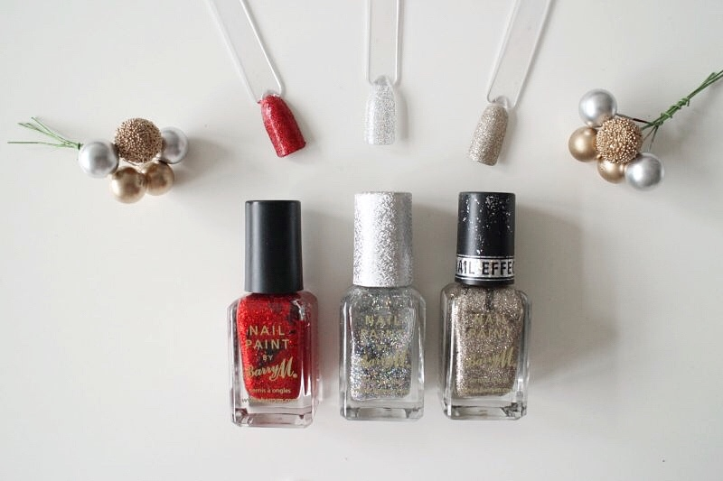 Barry M Glitter Nail Varnishes