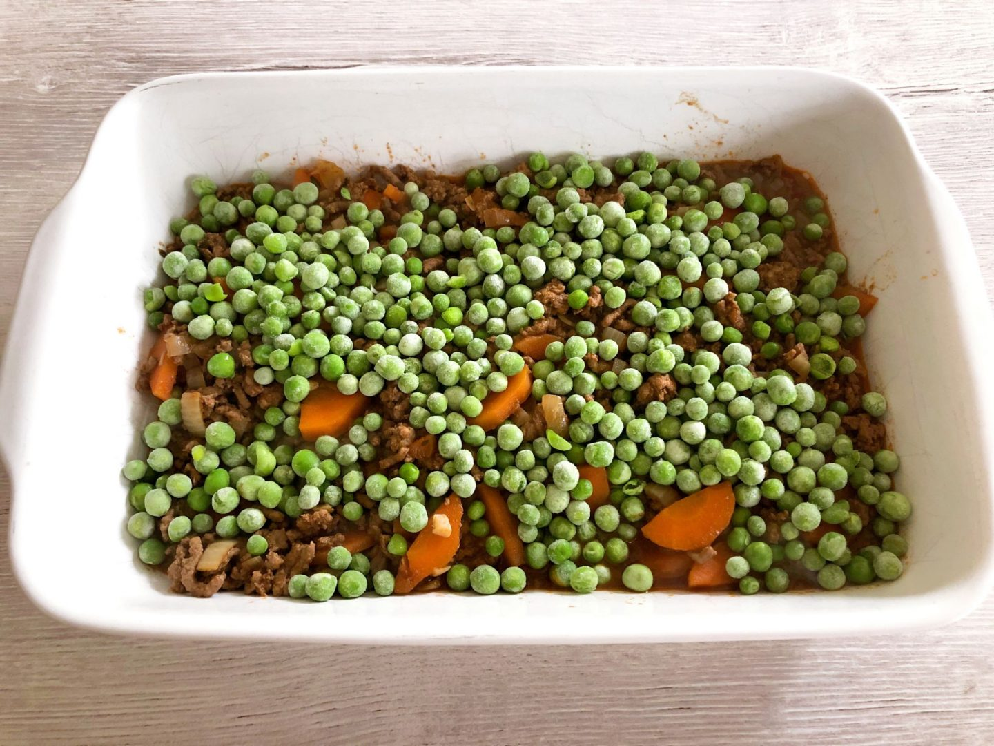 Cottage Pie Base - Beef Mince & Vegetables