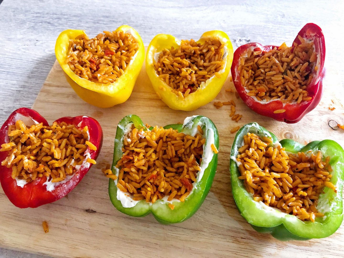 Vegetarian Stuffed Peppers