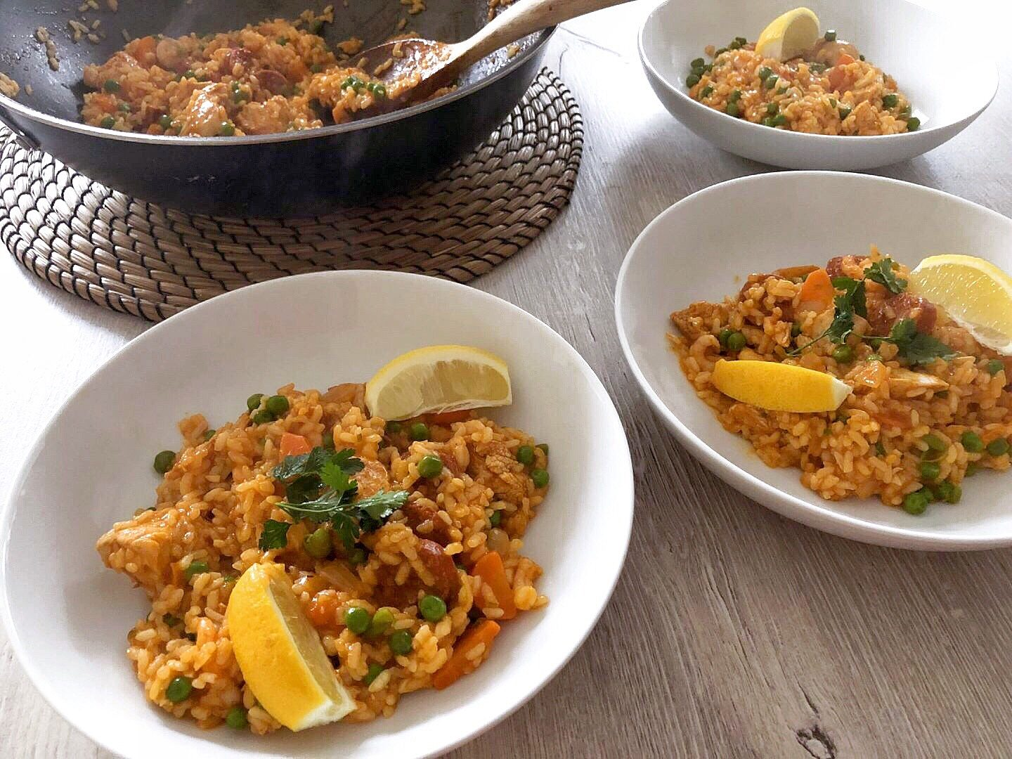 Paella Family Friendly Recipe
