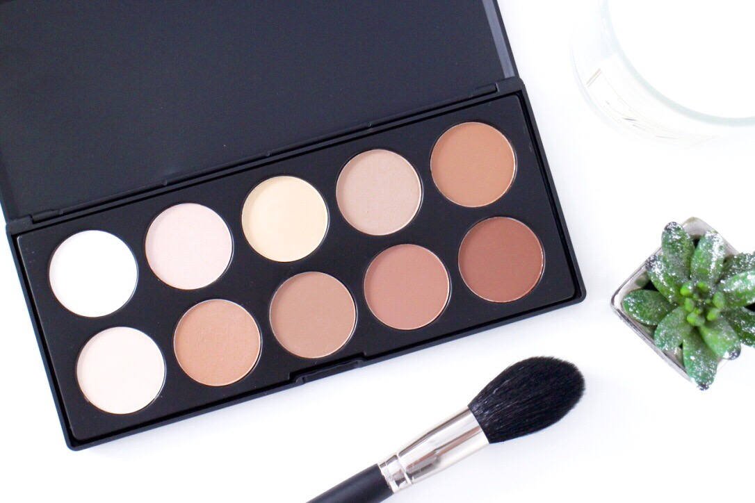 Crownbrush Uk Contour Palette Review