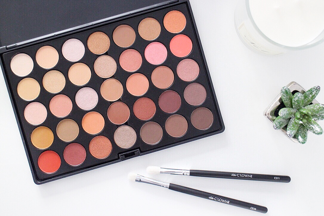 Crownbrush UK Rose Gold Eyeshadow Palette