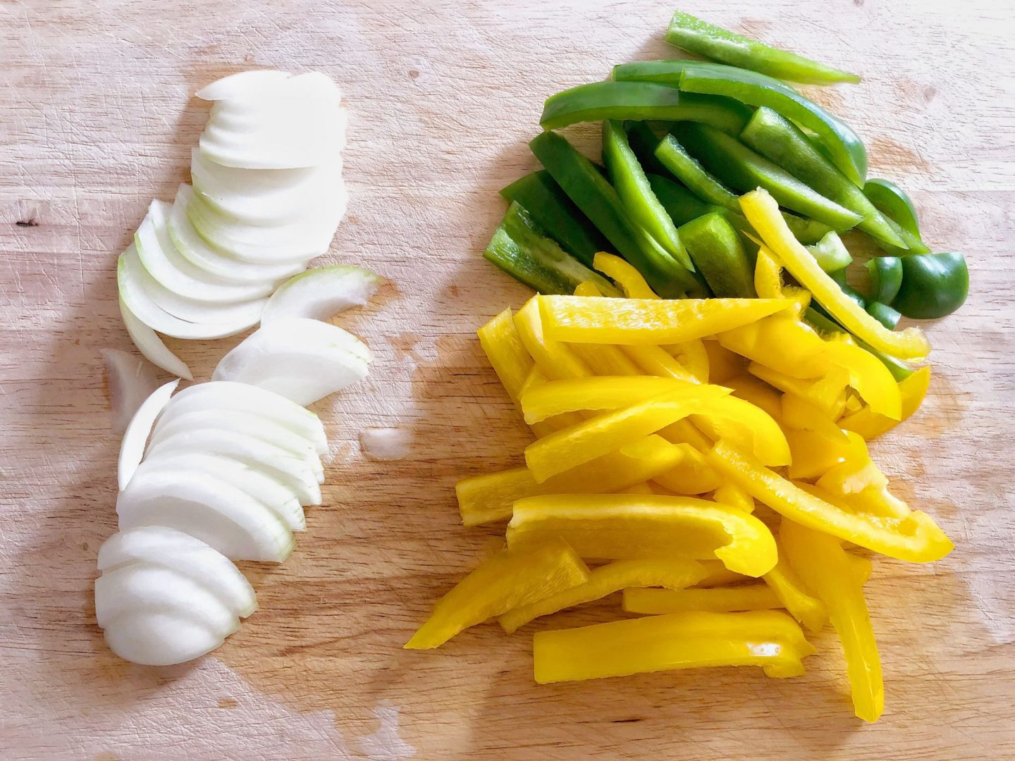 Fajita Ingredients