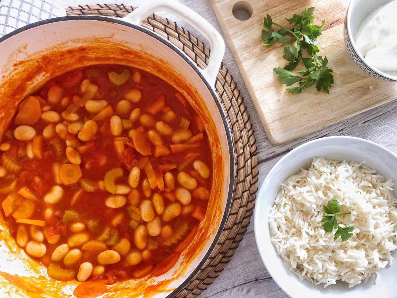 Turkish Food Fasulye