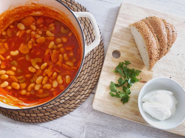 Fasulye - Turkish White Bean Stew Recipe