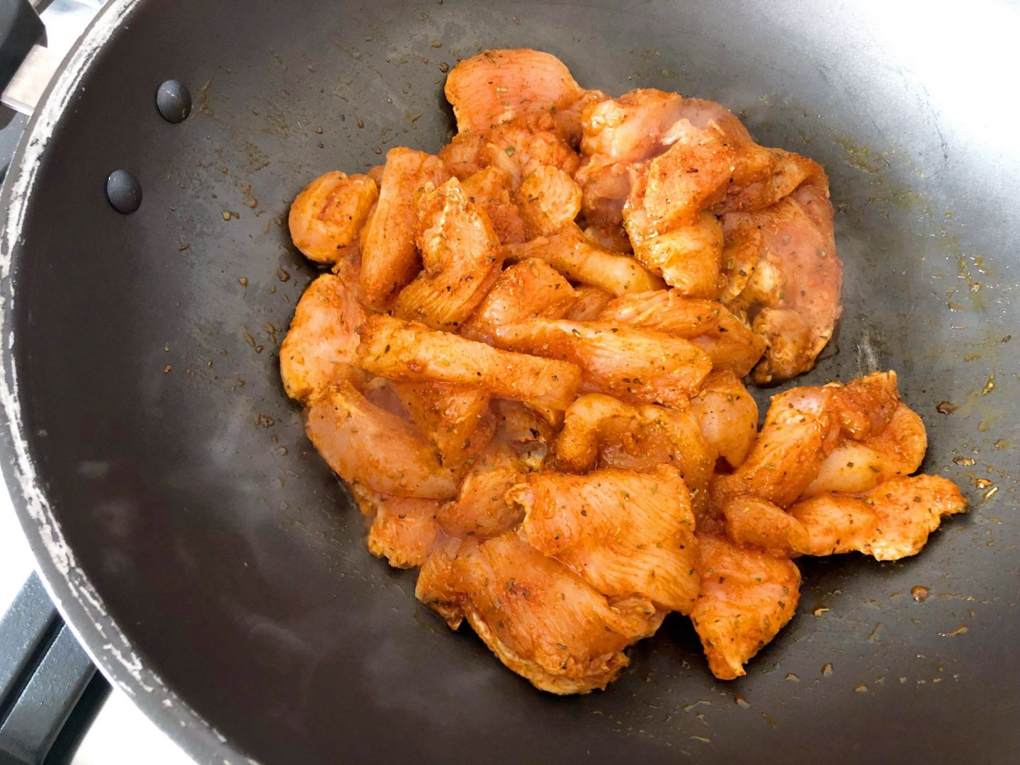 Chicken with Fajita Spice Mix