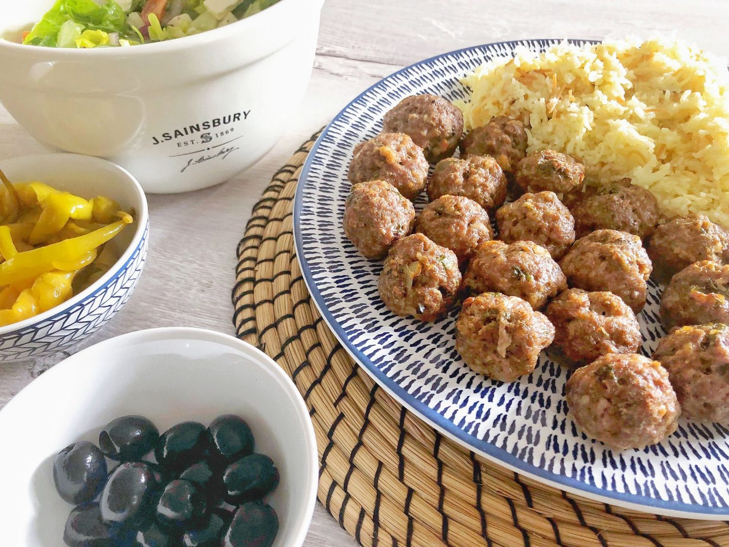 Baked Turkish Meatballs