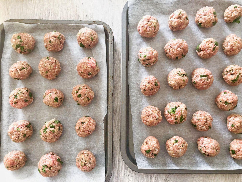 Baked Kofte Meatballs