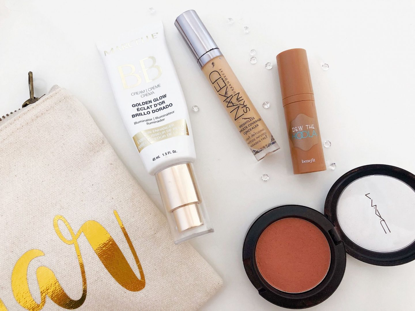 Light and Natural Summer Makeup Base