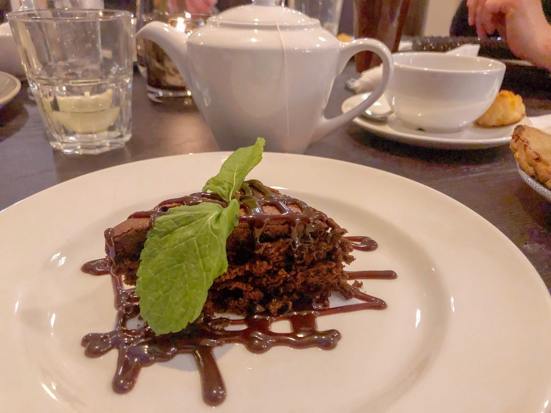 The Plough Inn Dessert Brownie