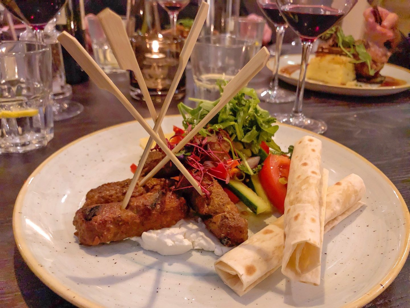 The Plough Inn Lamb Koftas