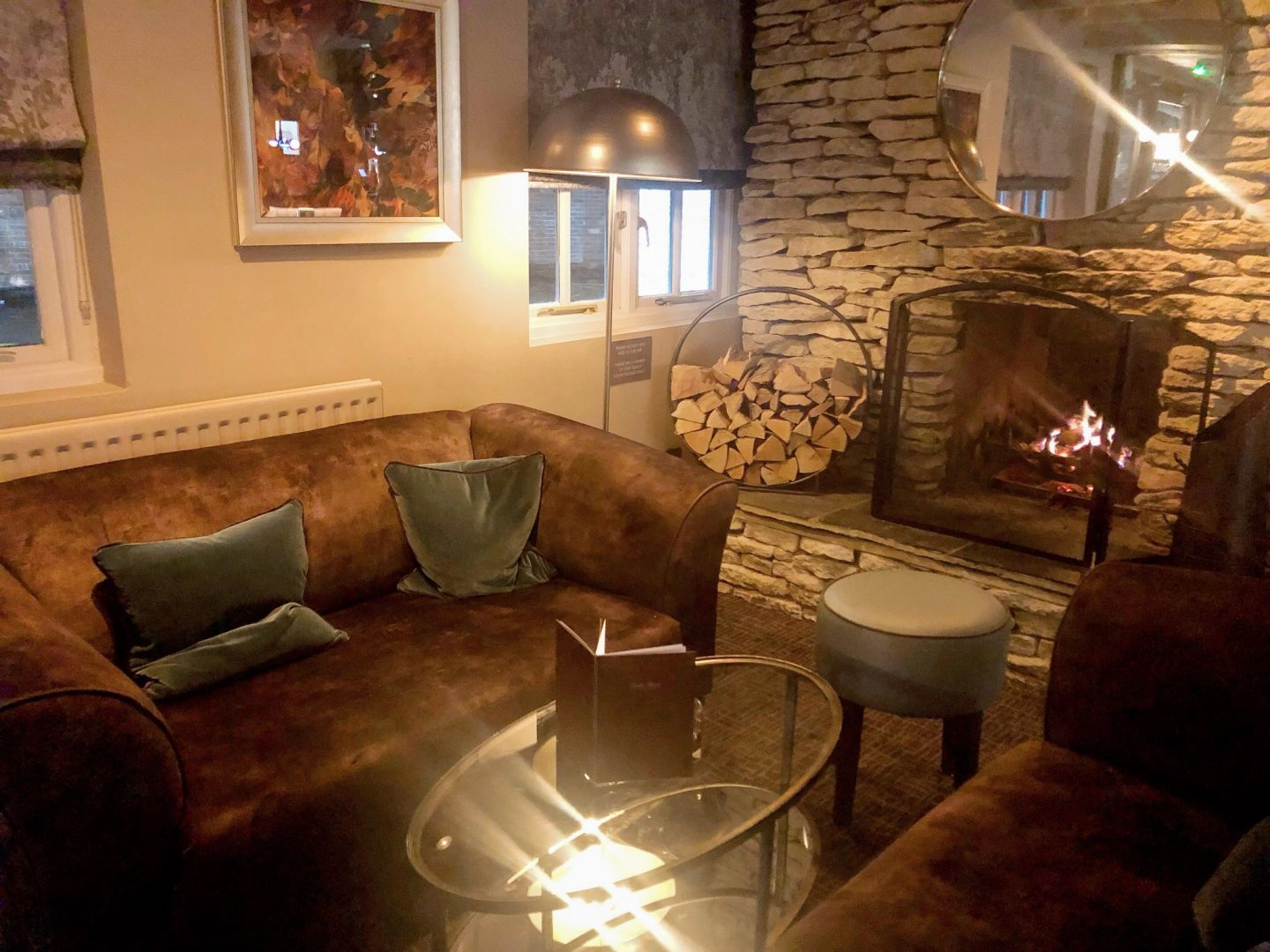 The Plough Inn Bar Area