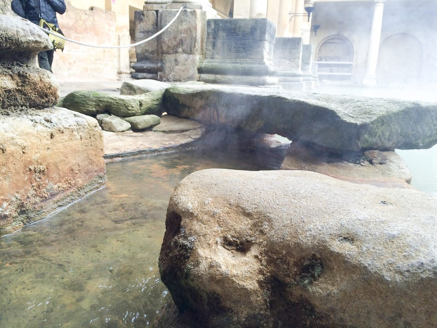 The Roman Baths in Somerset, England