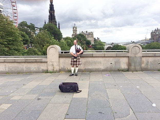 Scotland Bagpipes Playing