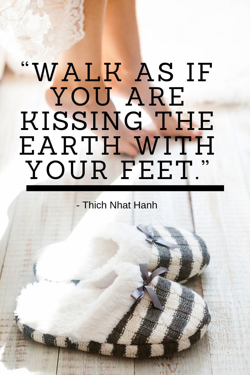Gratitude for your feet quote