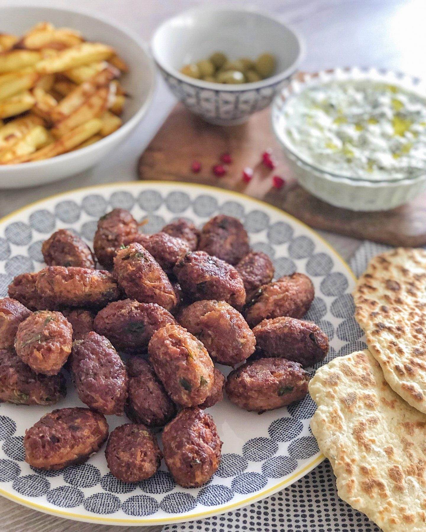 Vegan Turkish Koftes