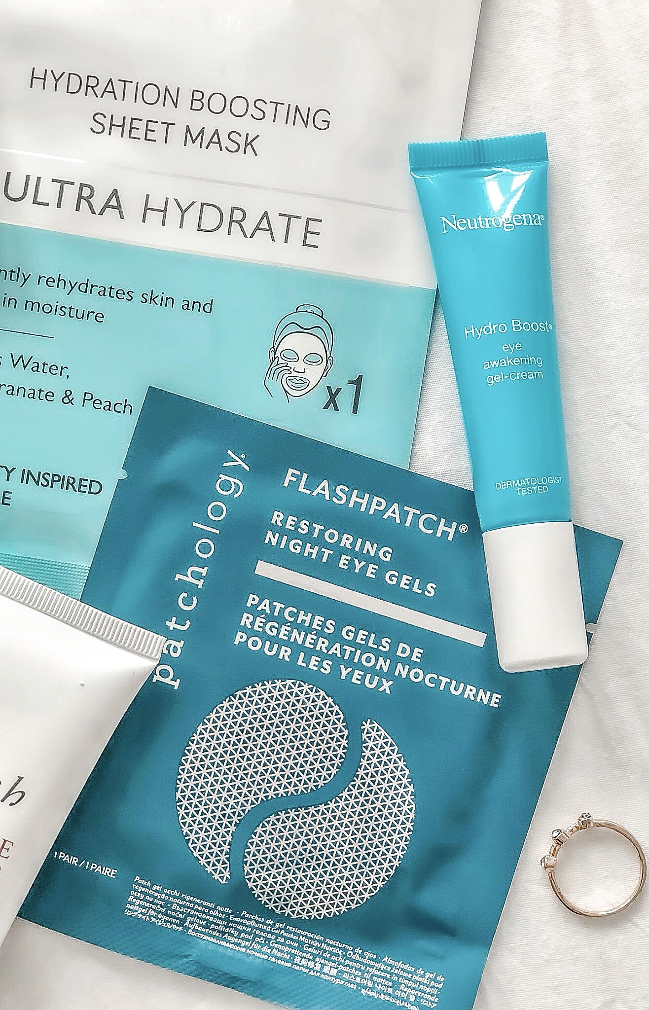 Hydrating Skincare products and lifestyle tips