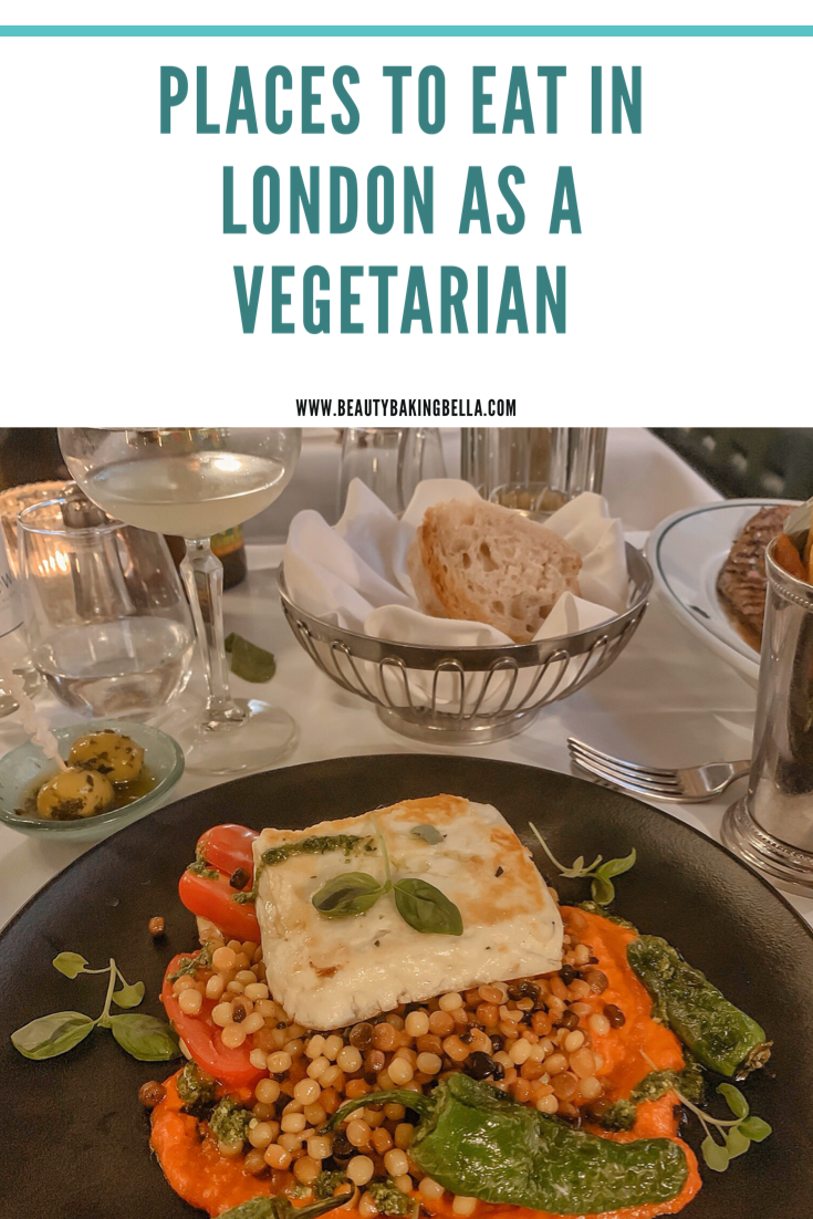 vegetarian eating out in london