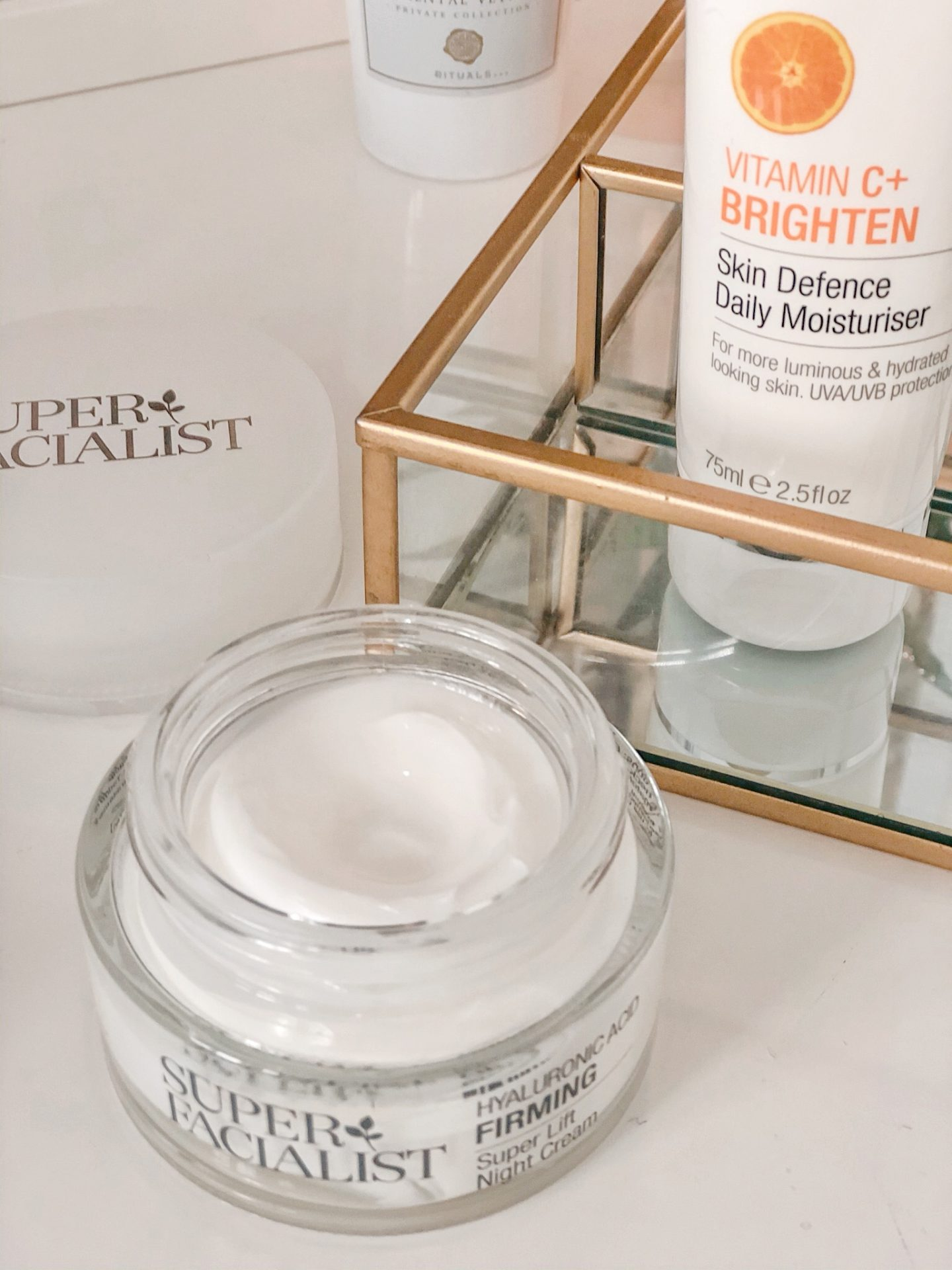 Hyaluronic Acid Firming Night Cream Super Facialist