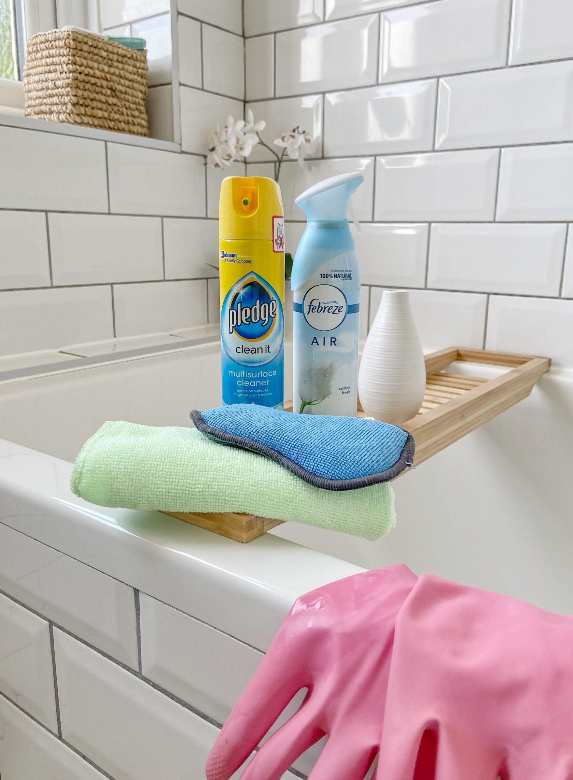 Cleaning & Organising your bathroom