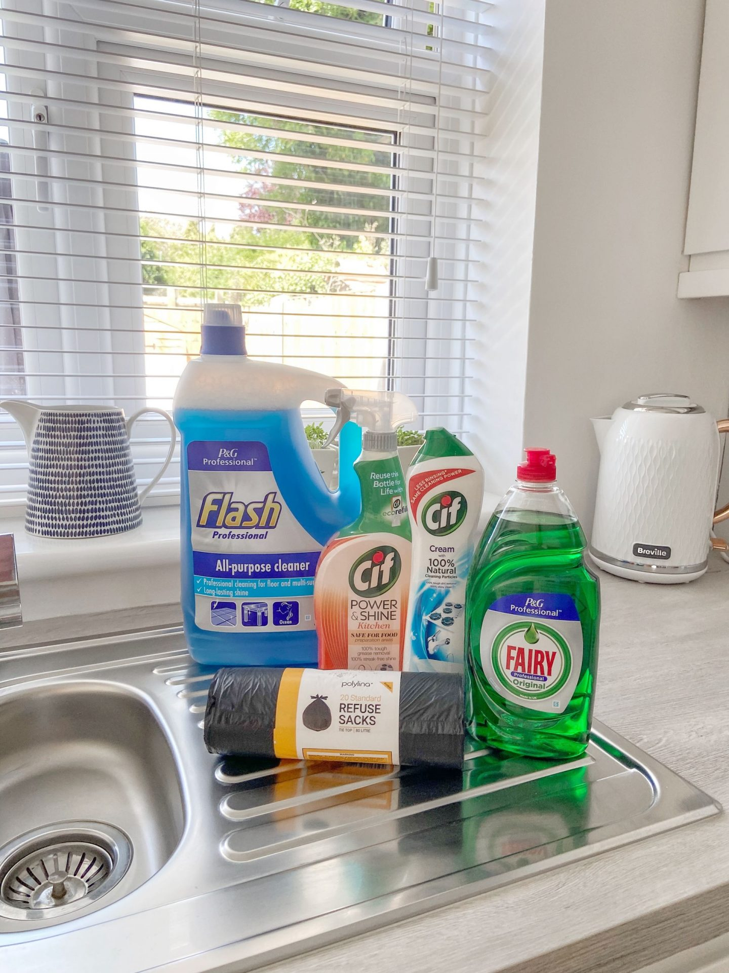 Cleaning Products for the kitchen