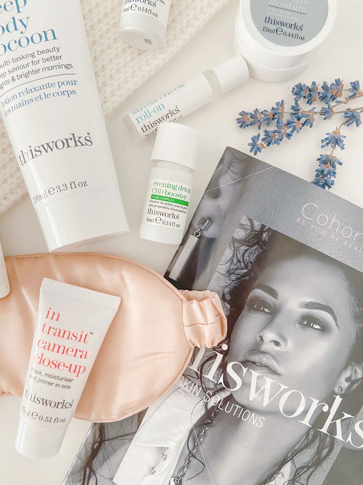 Cohorted June Beauty Box x This Works