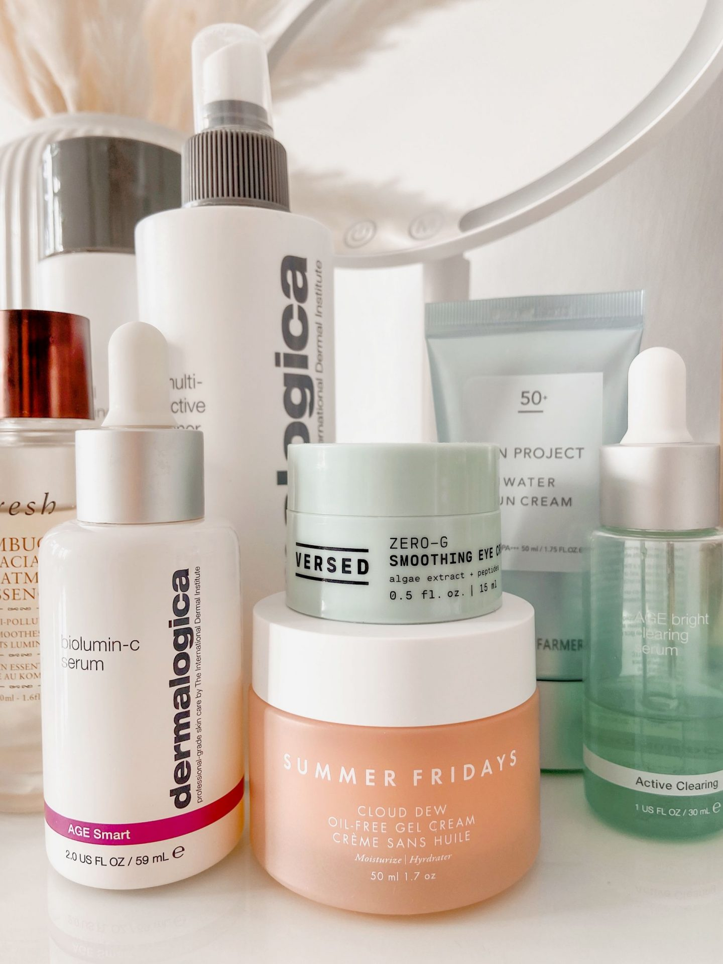 Skincare product recommendations for morning routine