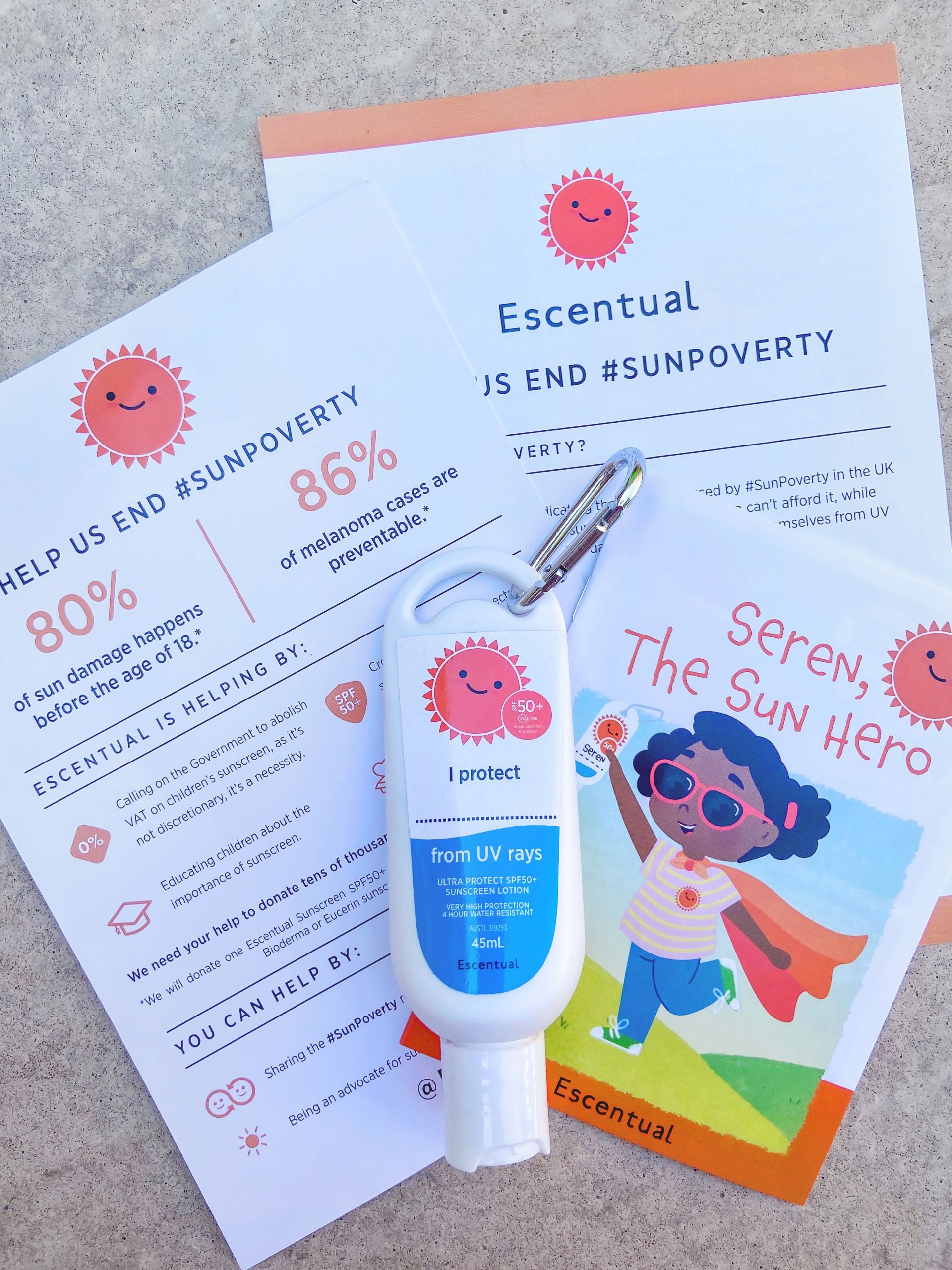 Sun Poverty Campaign with Escentual